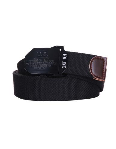 Cintura militare con fibbia in metallo Esercito U.S.A Nashville 100/% cotone