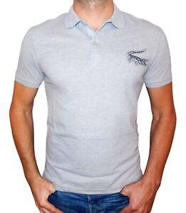Lacoste Men's Short Sleeve Big Croc Slim Fit Polo Shirt | eBay