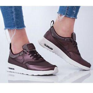 Details about Nike Air Max Thea Premium Metallic Mahogany UK Size 4 616723 900