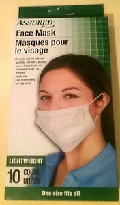 disposable earloop face masks medical germ protection