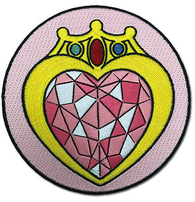 Sailor Moon S large Prism Heart Compact iron on patch new sealed