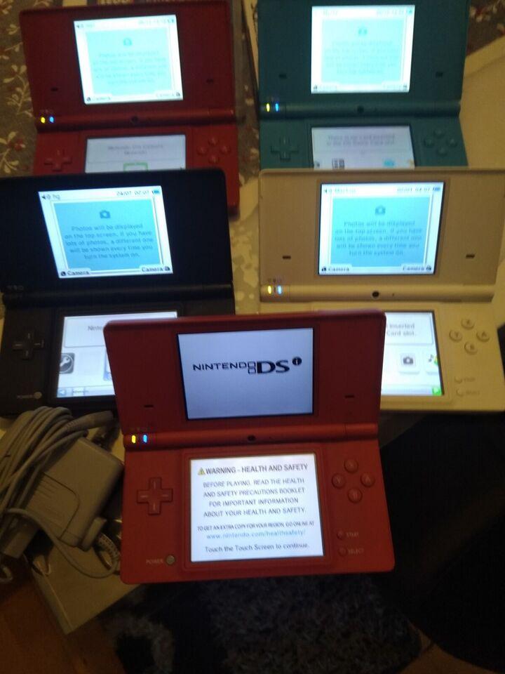 Nintendo DSI, Sort/hvide/rød og blå, Perfekt