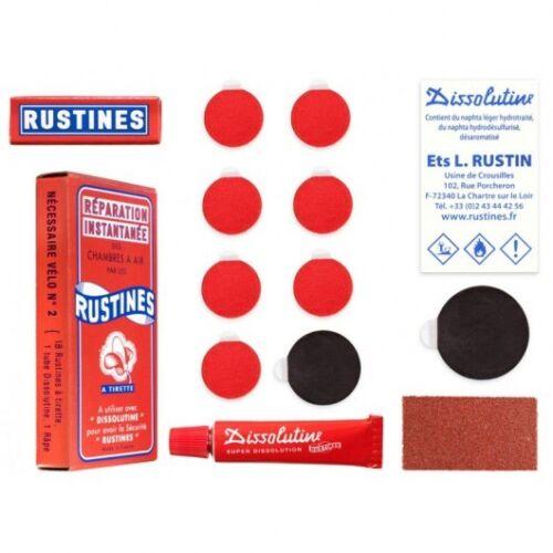 Genuine Rustines Puncture Repair Kit Box No 2