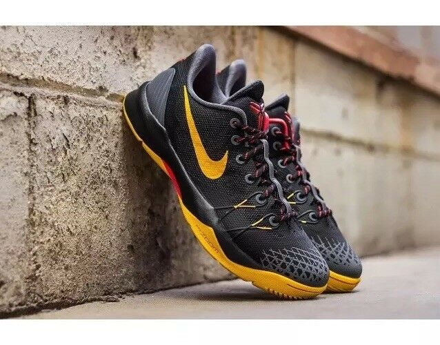NIKE Zoom Kobe Venomenon 4 Black/Gold/Crimson US SIZE 11 New shoes for men and women, limited time discount