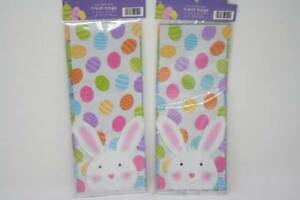 Details About Easter Treat Bags Plastic With Ties Eggs 2 Packs 20 Each Total 40