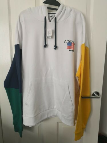 Urban outfitters Hoodie Men/'s USA Colour block Sleeve M