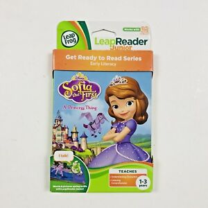 Leap-Frog-Sofia-The-First-Leap-Reader-Tag-Junior-Disney-A-Princess-Thing-Book