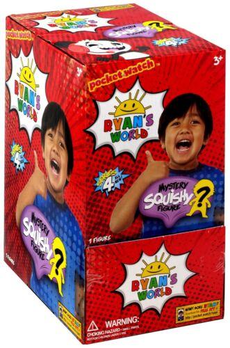 24 Packs Ryan/'s World Series 4 Squishy Mystery Minis Blind Box