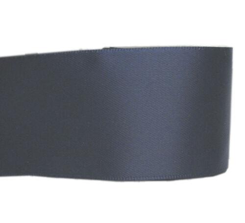 "BUY 2 GET 1 FREE 2y 75mm 3/"" Double Faced Premium Heavy Satin Ribbon Sash Eco"