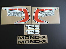1981 YAMAHA YZ 125 EURO MODEL COMPLETE DECAL SET AHRMA