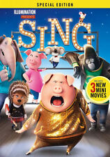 Disney/ Illumination :  SING (2016) special edition - DVD - Region 1 - Sealed
