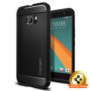 Spigen-HTC-10-Rugged-Armor-Shockproof-TPU-Cover-Ultra-Slim-Protective-Case
