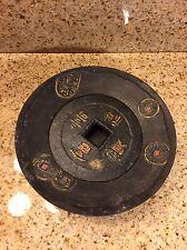 Vintage Asian Cast Iron Incense Burner
