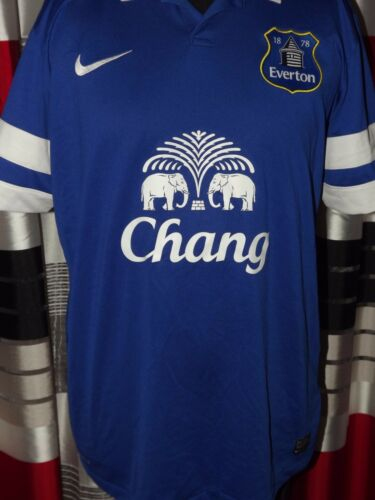 201314 Everton Home Excellent L Shirt Jersey Trikot Maglia Maillot Camiseta.