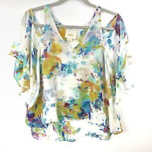 Maeve-Anthropologie-Top-Small-Silk-Cold-Shoulder-Watercolor-Flutter-Sleeve