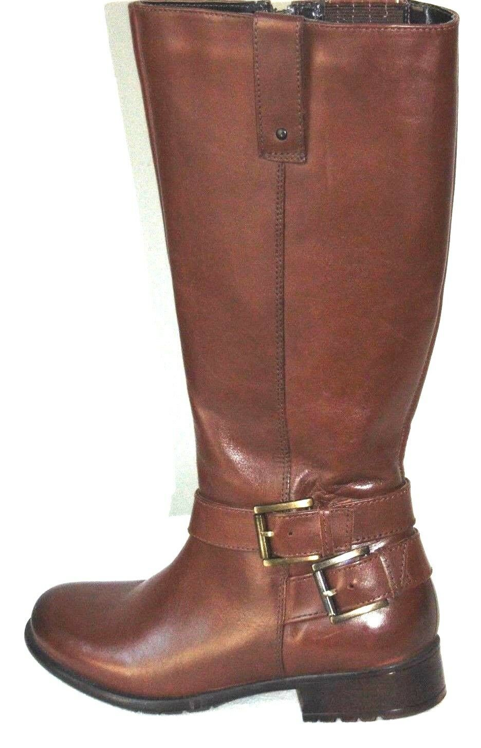 190 Clarks Plaza Steer Girl Knee High Boot  Braun  Größe: US/5.5