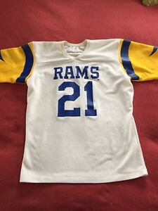 Details about Vintage Los Angeles Rams Nolan Cromwell Rawlings Jersey Size L