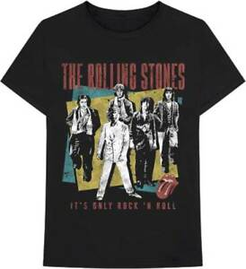 ROLLING STONES Its Only Rock n Roll T-shirt Raglan All Sizes NEW /& OFFICIAL Logo