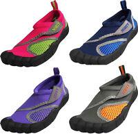 Norty Toddler 5-10 Skeletoe Five Finger Look Kids Pool Aqua Sock Water Shoes