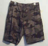 Da Hui Hawaii Men's Hybrid Collection Land/water Shorts Camo Size 38