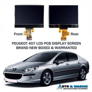 PEUGEOT-407-LCD-DISPLAY-SCREEN-INSTRUMENT-CLUSTER-DASH-UK-SUPPLIER-2005-2012