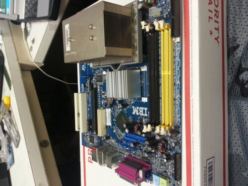 Levovo IBM ThinkCenter Motherboard 29R8260 Combo w// 3GHZ CPU w// HEATSINK TEXTED