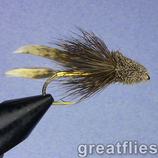 Muddler Minnow Assortment; 2 Dozen Trout Fishing Flies