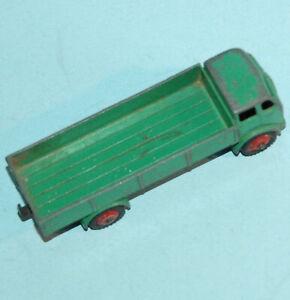 DINKY TOYS MECCANO ENGLAND #420 in avanti controllo CAMION Mid verde e rosso HUB 1954-61