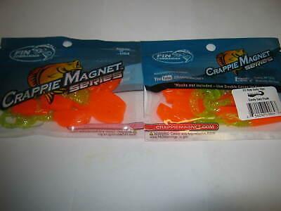 Leland Lures Slab Curly jigs 2 packs  candy corn