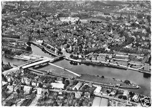 AK-Hameln-Weser-Luftbildansicht-1954