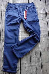 Sheego-Jeans-Stoffhose-Hose-Groesse-40-58-Blau-247-072-722-Oil-Wash-Optik