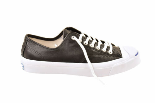 Jack Noir Cuir £ Uk 9 Low Chaussures Converse Taille Purcell 137 Unisexe Rrp REO1nqX