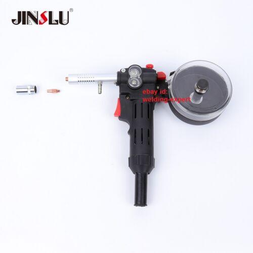 150A 10ft MIG Welder Spool Gun Wire Feeder Aluminum Welder Use Standard Spool