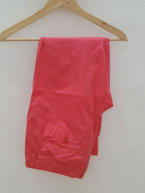 Esprit Damen Chino Hose Sommerhose Gr.34 Pink Wneu Reine WeißE