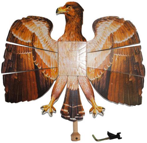 Vogelschießen KinderVogels Vogel Adler // braun 49 cm * 46 cm Bogenschießen