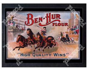 Historic-Ben-Hur-Flour-ca-1880-Advertising-Postcard