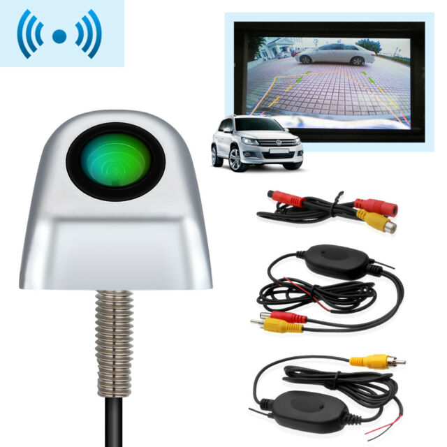 Wireless Car Rear View CCD Night Vision Reverse Backup Parking Camera 170° angle
