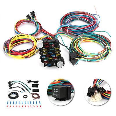 [DIAGRAM_38IS]  EZ Wiring 21 Circuit Wiring Harness Street Rat Hot Rod G.M Chevy Ford  Universal   eBay   21 Ez Circuits Wiring Harness      eBay