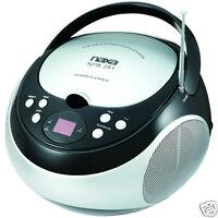Naxa Electronics Portable Cd Player With Am/fm Stereo Radio (black) on sale