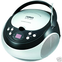 Naxa Electronics Portable Cd Player With Am/fm Stereo Radio (black)