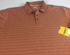 Cabelas-Polo-Shirt-Mens-2XL-Modal-Polyester-Blend-Golf-Casual-Soft-XXL-NEW-Guys