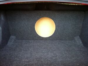 Dodge Challenger 2 12 Subs Flush//Recessed Sub Box Subwoofer Enclosure for an 08