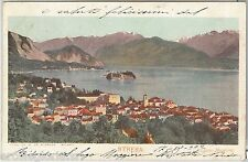 56014 -- CARTOLINA d'Epoca - LAGO MAGGIORE:  Stresa  1902