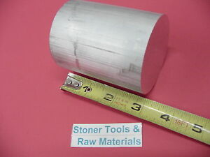 """6 pieces 1-1//2/"""" ALUMINUM 6061 ROUND ROD 2/"""" LONG T6511 Solid Lathe Bar Stock"""
