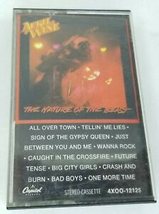 April Wine The Nature Of The Beast Cassette Tape Capitol Records 1981 Vintage