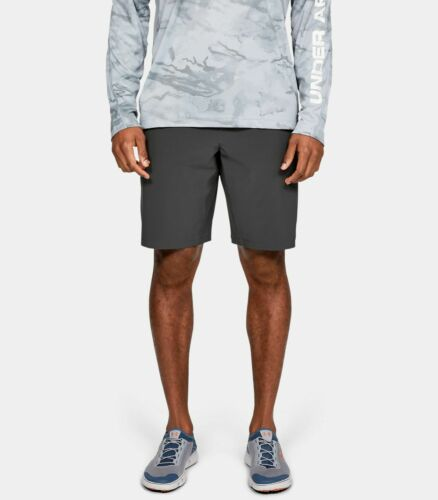Under Armour 1327527-010 Men/'s Mantra Board Shorts Jet Gray