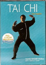 TERENCE DUNN Tai Chi For Health Yang SHORT FORM Training and Exercise 2 hour DVD