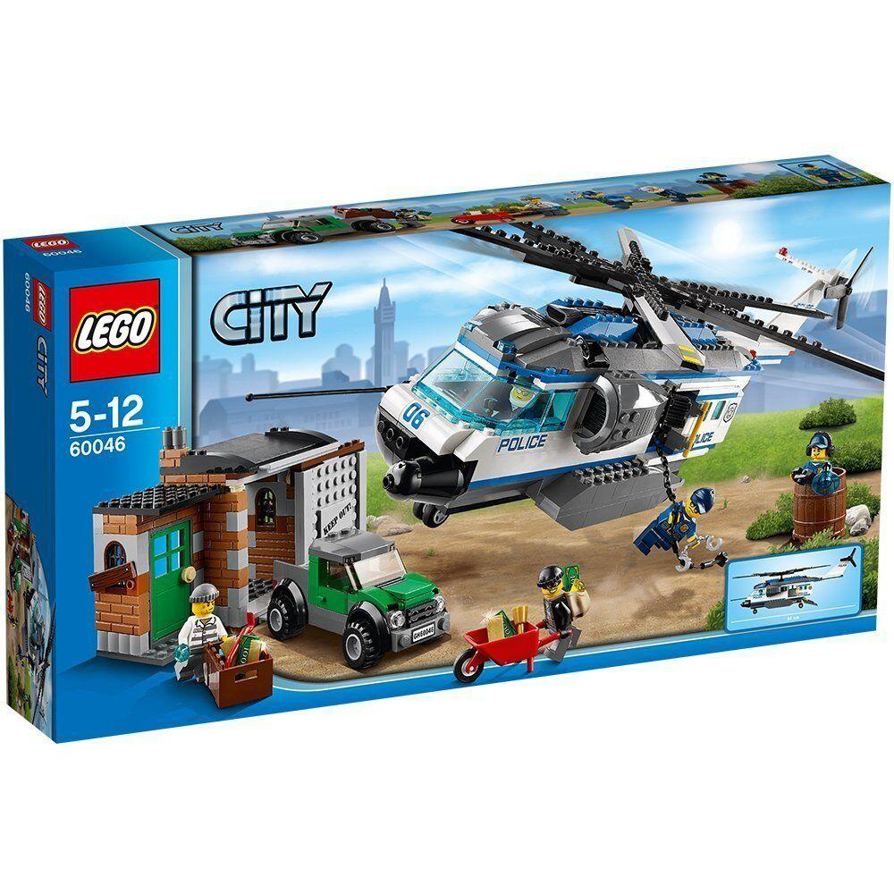 LEGO ® City 60046 poursuites avec la police-Hélicoptère NEUF NEW OVP MISB