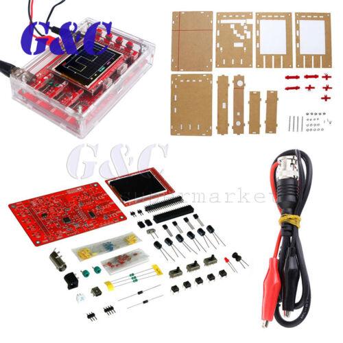 "DSO138 2.4/"" TFT Digital Oscilloscope Soldered Acrylic Case DIY Kit Module"