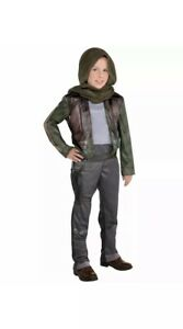 Details about  /Star Wars Rogue One Jyn Erso Child Kids Halloween Costume Size Medium /& Large